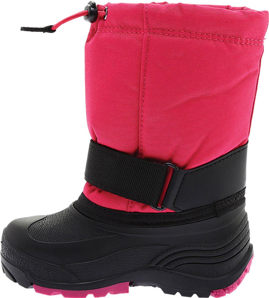 Children's Kamik Rocket Pull On Boot, Rose Waterproof 600 Denier Nylon/Synthetic Nubuck, large, image 3