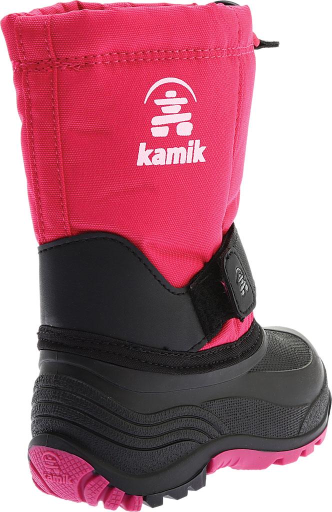 Children's Kamik Rocket Pull On Boot, Rose Waterproof 600 Denier Nylon/Synthetic Nubuck, large, image 4