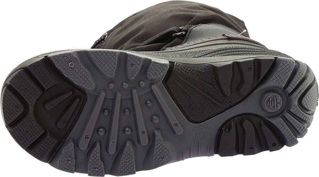 Boys' Kamik Waterbug5 Boot, Black/Charcoal Waterproof 600 Denier Nylon, large, image 6