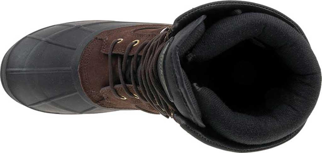 Men's Kamik NationPlus Snow Boot, Dark Brown Suede, large, image 3