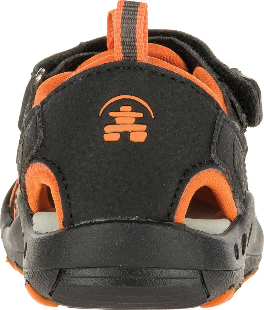 Children's Kamik Crab Closed Toe Sandal, Plum Synthetic Leather, large, image 4