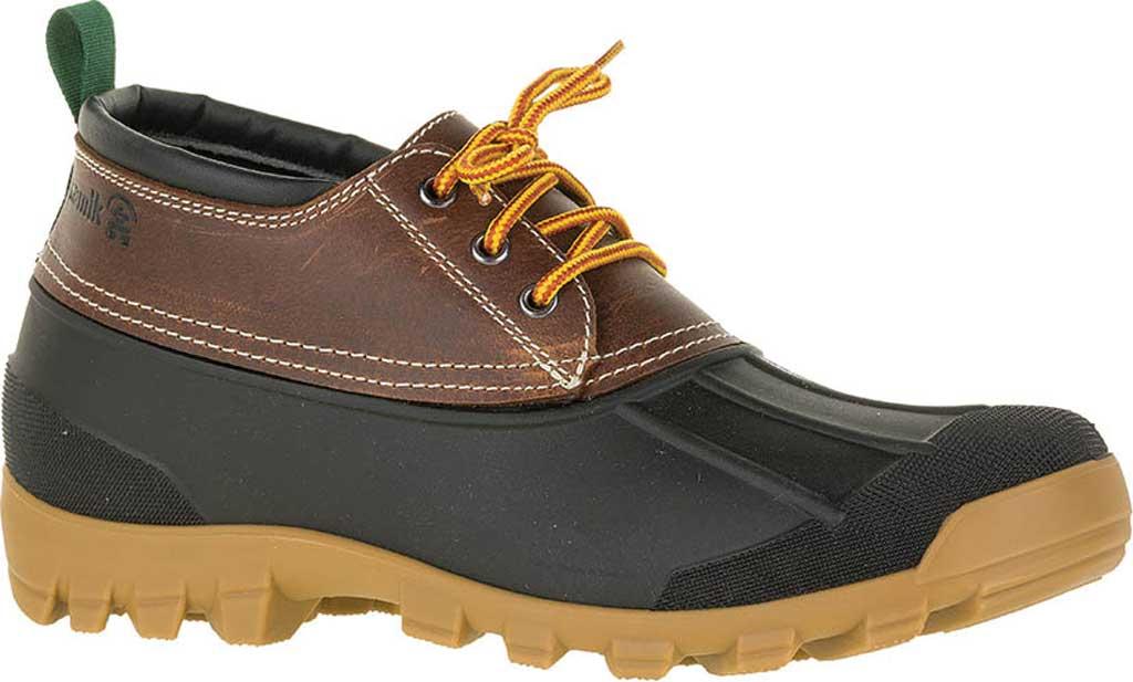 Men's Kamik Yukon3 Duck Boot, Dark Brown Leather, large, image 1
