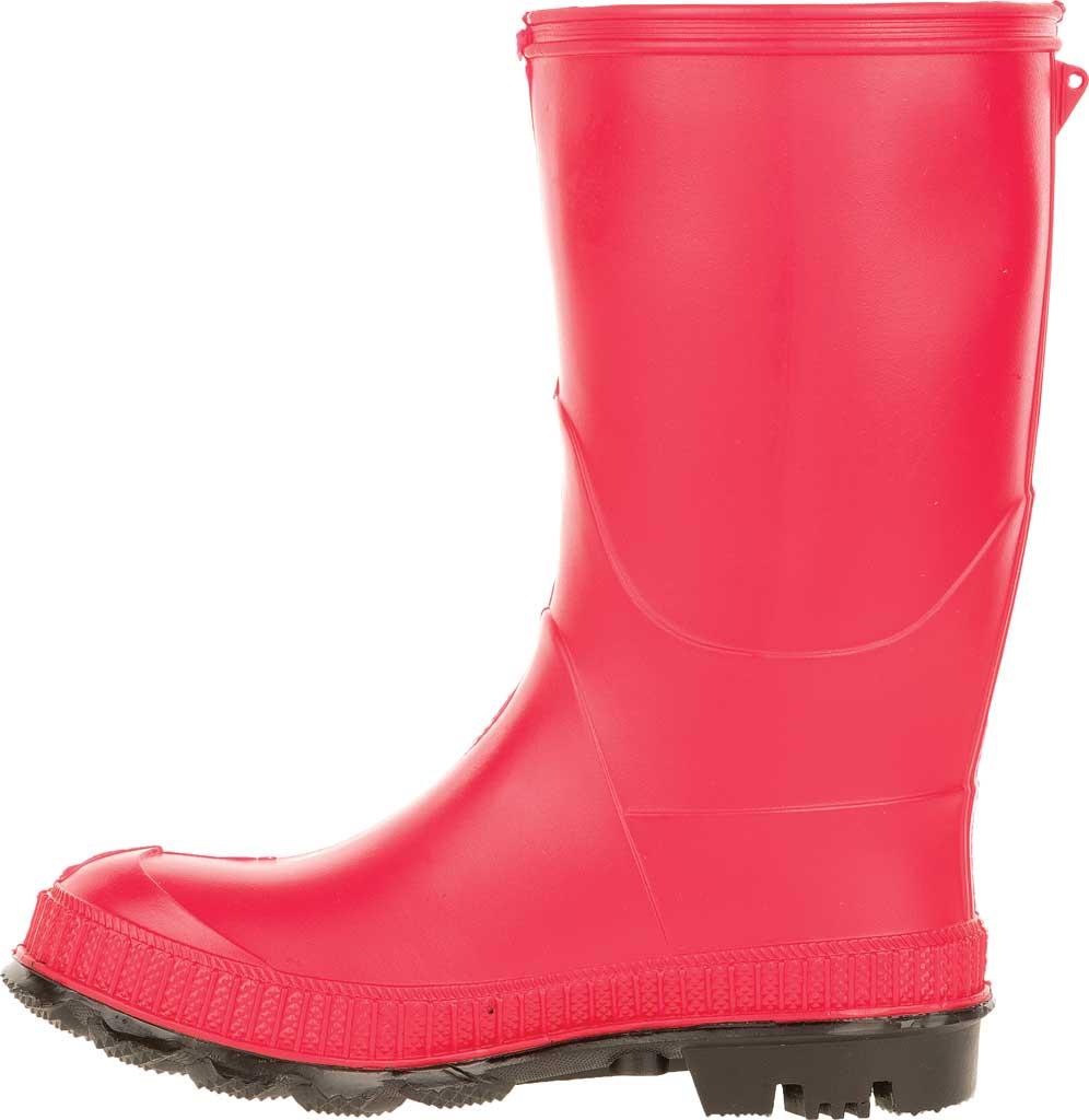 Infant Kamik Stomp Rain Boot, Red Rubber, large, image 3