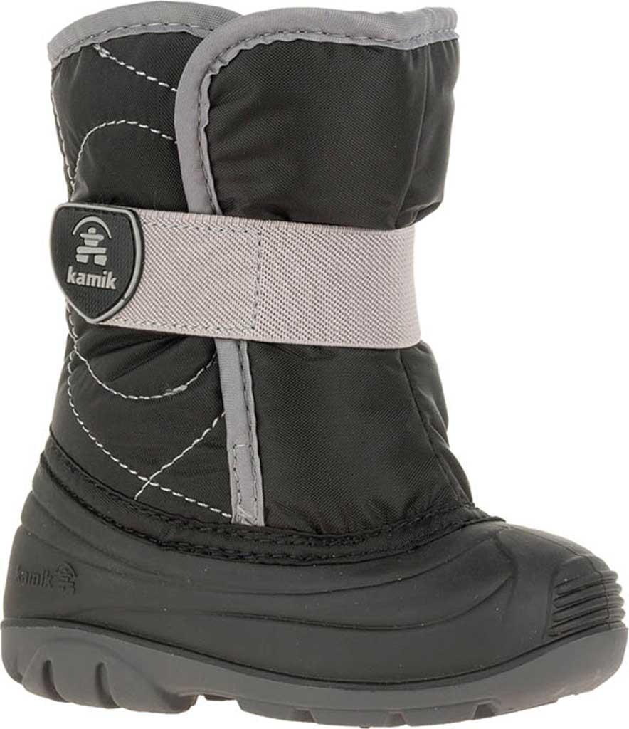 Infant Kamik Snowbug 3 Winter Boot, Black Nylon, large, image 1
