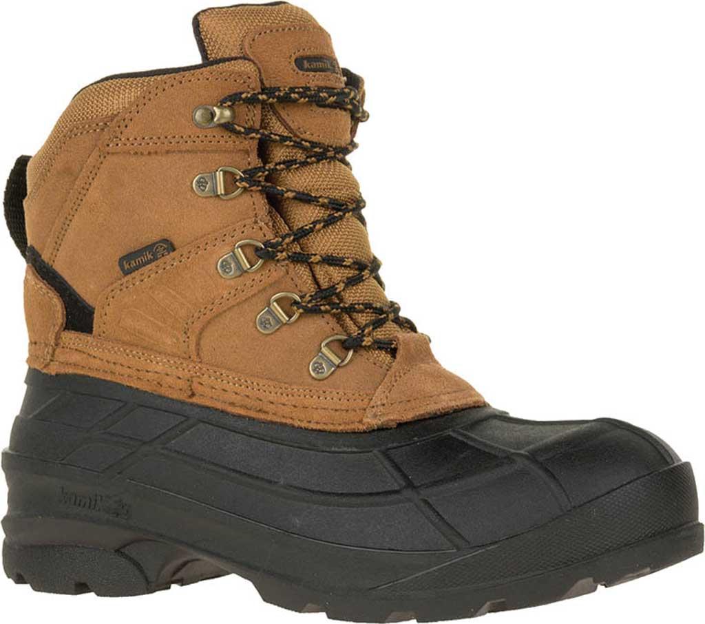 Men's Kamik Fargo Winter Boot, Tan Suede, large, image 1