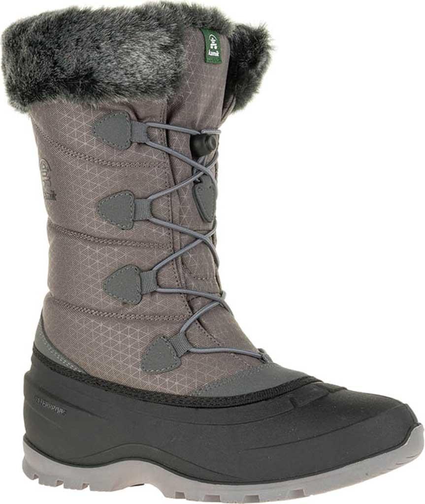 Women's Kamik Momentum 2 Winter Boot, Charcoal Nylon, large, image 1