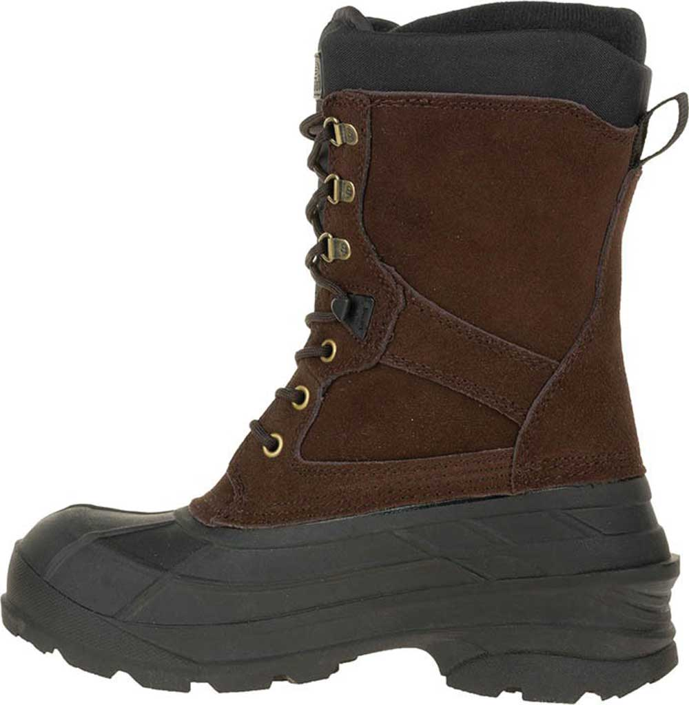 Men's Kamik Nationwide Waterproof Boot, Dark Brown Suede, large, image 2