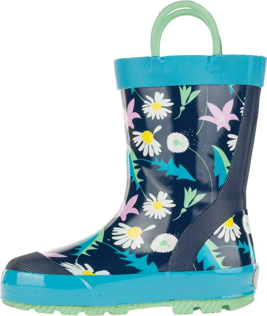 Infant Girls' Kamik Mayweed Rain Boot, Navy Rubber, large, image 3