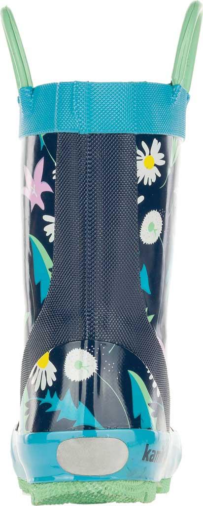 Infant Girls' Kamik Mayweed Rain Boot, Navy Rubber, large, image 4