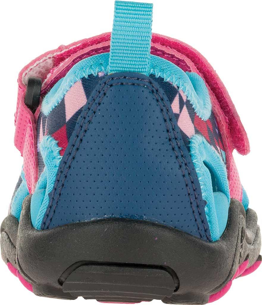 Girls' Kamik Claire Closed Toe Sandal, Magenta Synthetic Leather, large, image 4