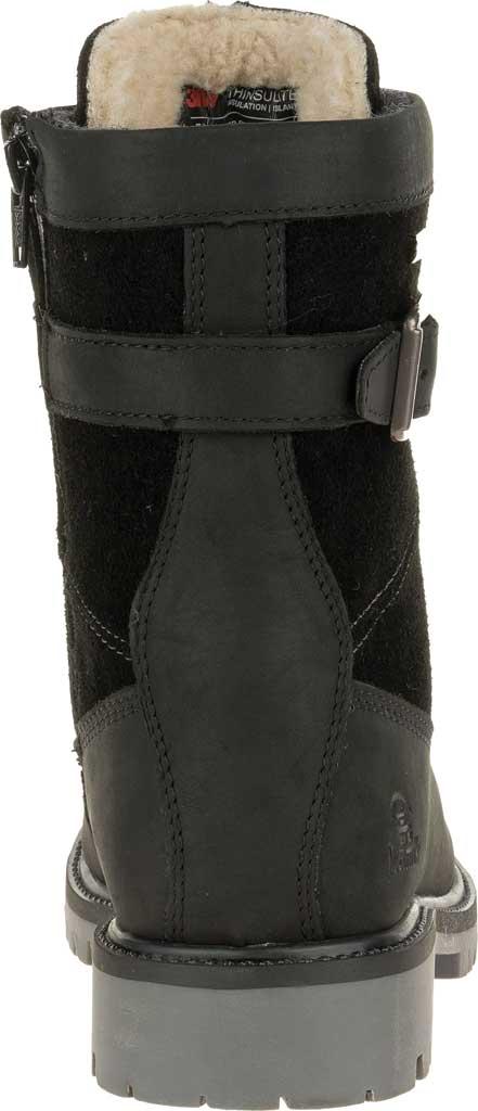 Women's Kamik Rogue Mid Snow Boot, Black Waterproof Leather, large, image 4