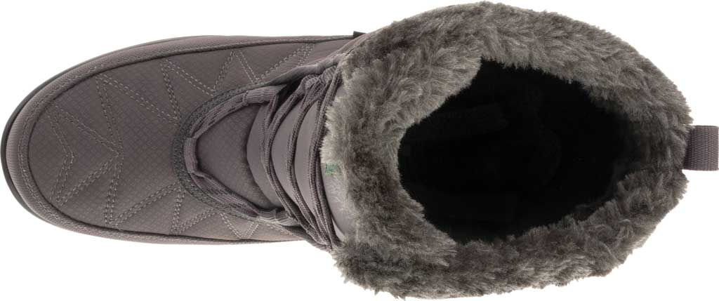 Women's Kamik Hannah Mid Snow Boot, Charcoal Quilted Nylon, large, image 5