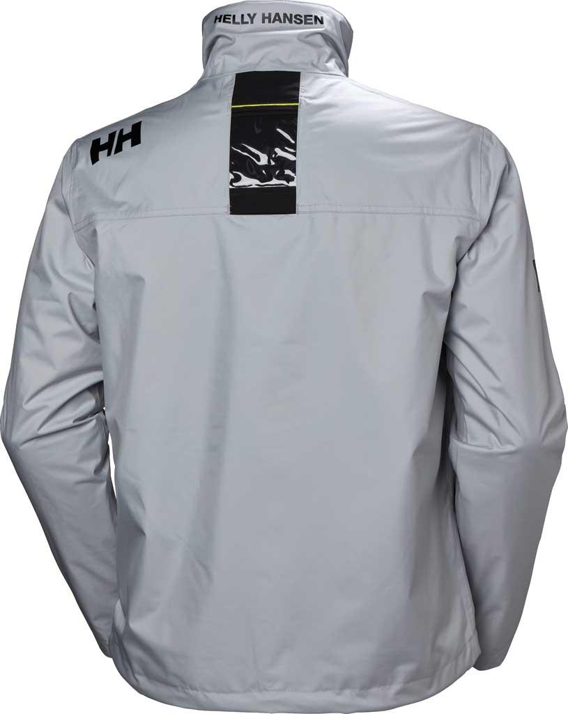 Men's Helly Hansen Crew Midlayer Jacket, Grey Fog, large, image 2
