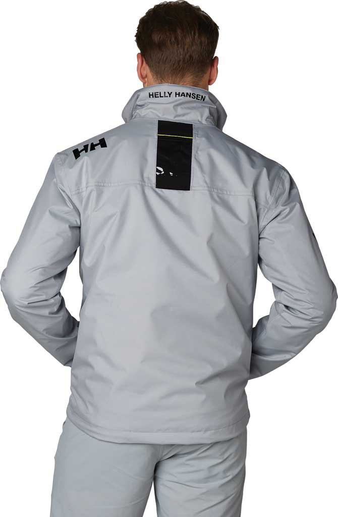 Men's Helly Hansen Crew Midlayer Jacket, Grey Fog, large, image 3