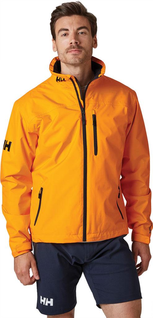 Men's Helly Hansen Crew Midlayer Jacket, Bright White, large, image 3