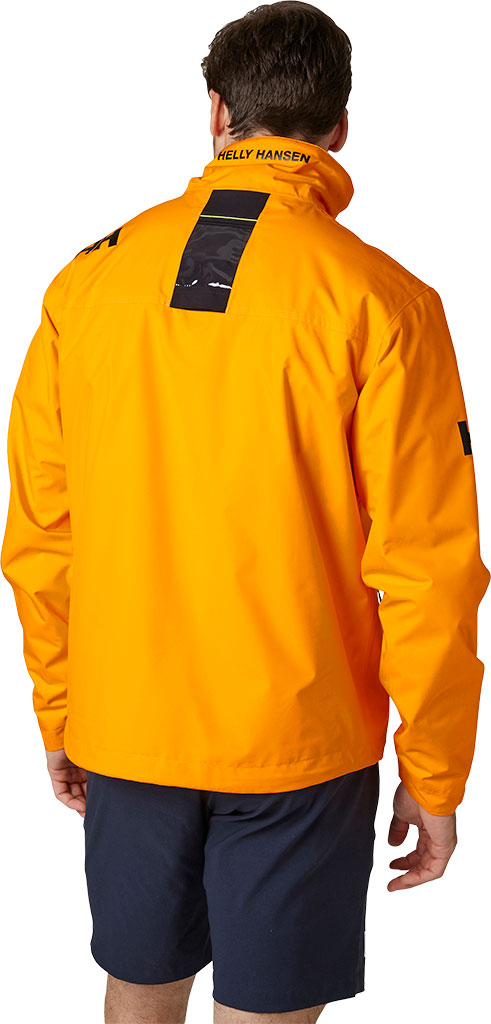 Men's Helly Hansen Crew Midlayer Jacket, Bright White, large, image 4
