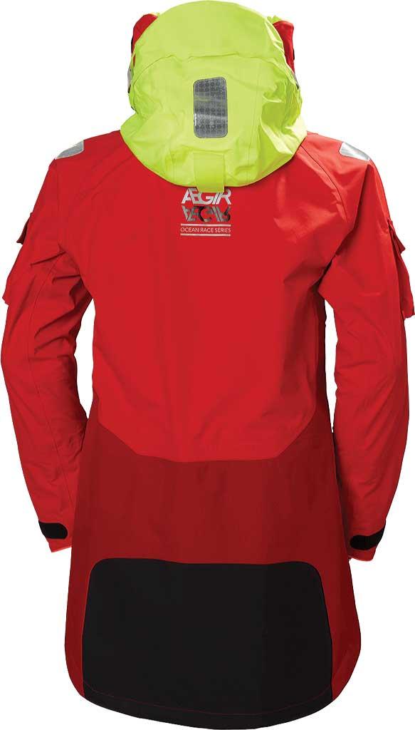 Men's Helly Hansen Aegir Ocean Jacket, Alert Red, large, image 2