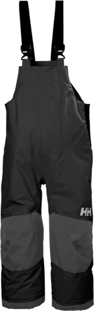 Children's Helly Hansen Rider 2 Insulated Bib, Black, large, image 1