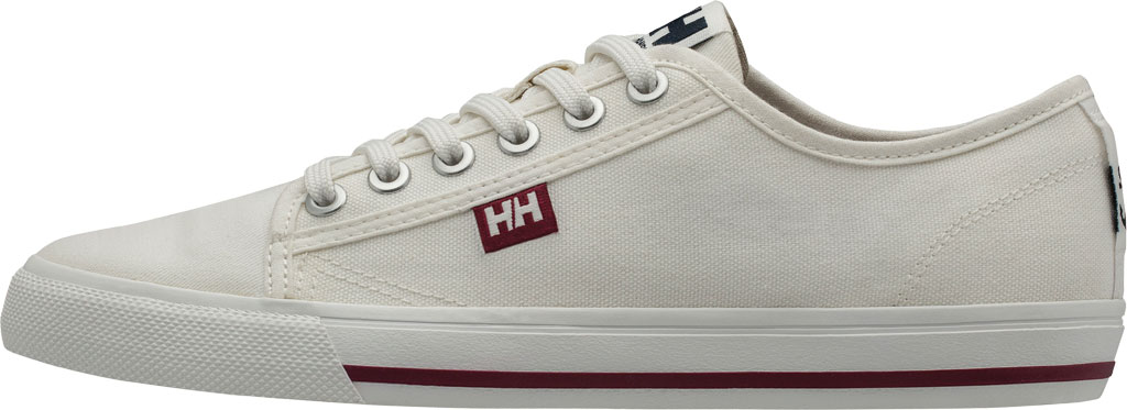 Women's Helly Hansen Fjord Canvas V2 Sneaker 11466, Off White/Beet Red/Navy, large, image 3