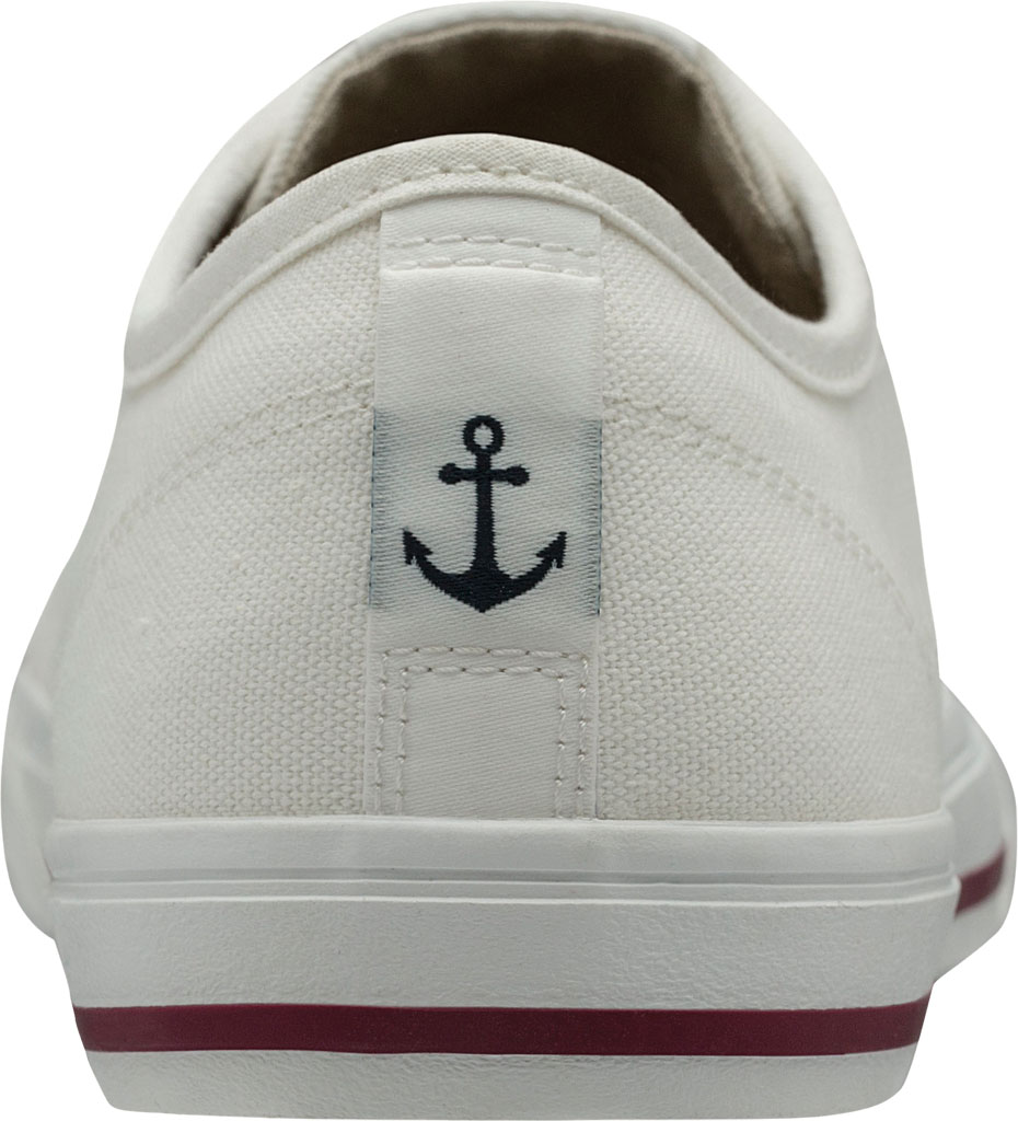 Women's Helly Hansen Fjord Canvas V2 Sneaker 11466, Off White/Beet Red/Navy, large, image 4