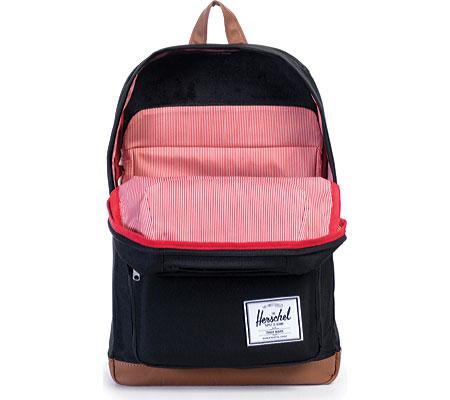 Herschel Supply Co. Pop Quiz Backpack, Black/Tan, large, image 4