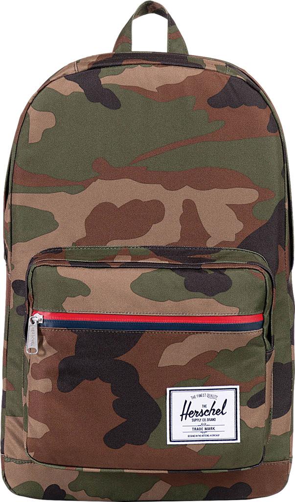 Herschel Supply Co. Pop Quiz Backpack, Woodland Camo/Multi Zip, large, image 1