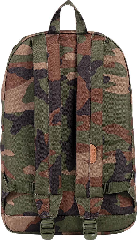 Herschel Supply Co. Pop Quiz Backpack, Woodland Camo/Multi Zip, large, image 2