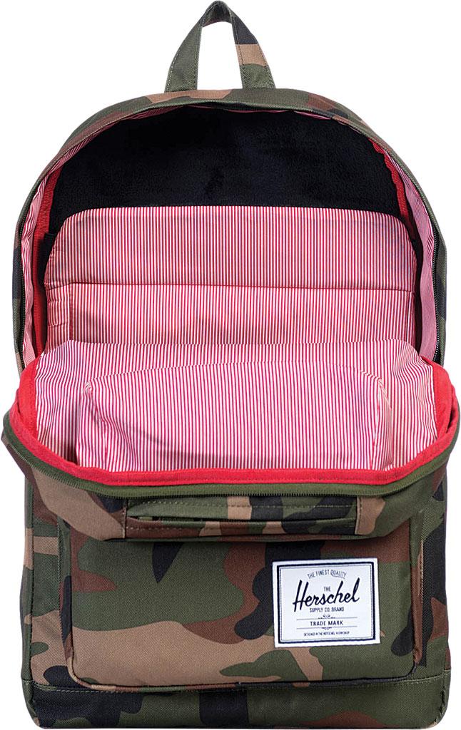 Herschel Supply Co. Pop Quiz Backpack, Woodland Camo/Multi Zip, large, image 3