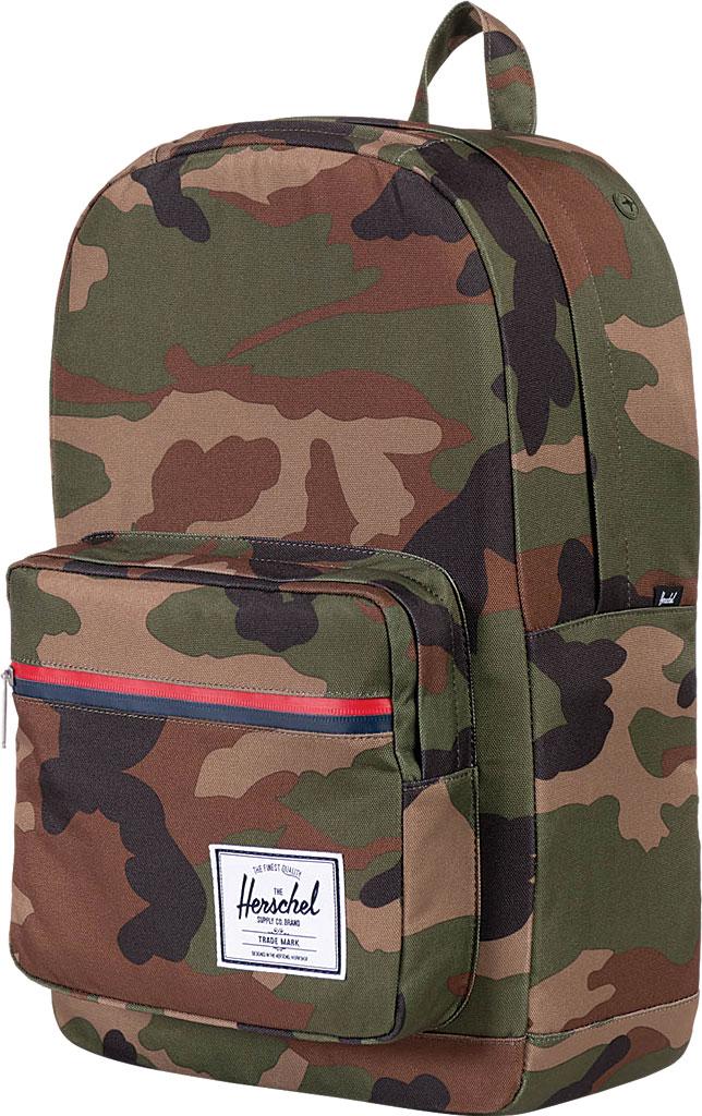 Herschel Supply Co. Pop Quiz Backpack, Woodland Camo/Multi Zip, large, image 4