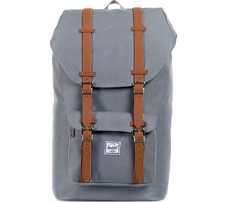 Herschel Supply Co. Little America Backpack, Grey/Tan, large, image 1