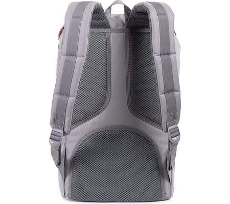 Herschel Supply Co. Little America Backpack, Grey/Tan, large, image 2