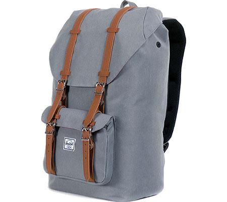 Herschel Supply Co. Little America Backpack, Grey/Tan, large, image 3