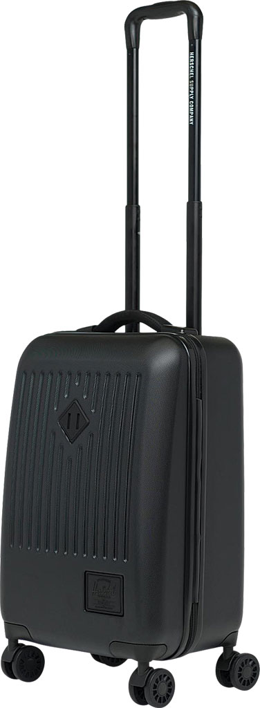 Herschel Supply Co. Trade Small Suitcase II, Black, large, image 3