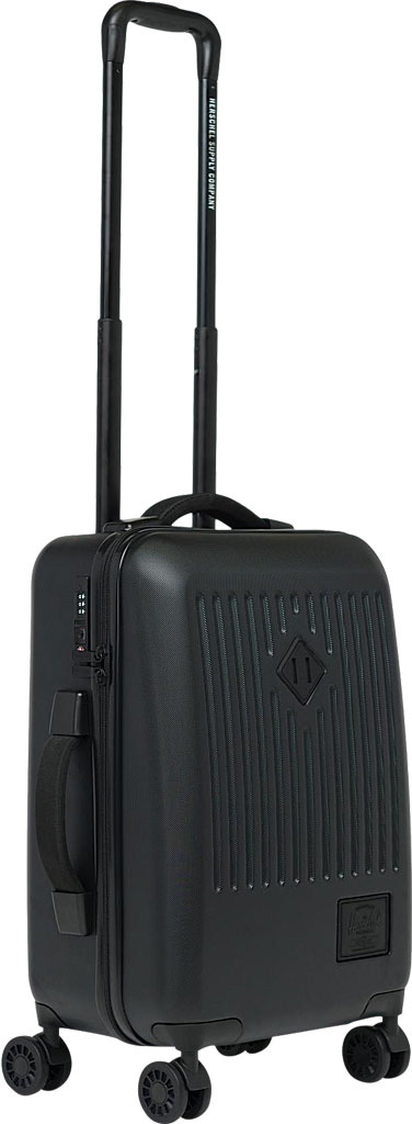 Herschel Supply Co. Trade Small Suitcase II, Black, large, image 5