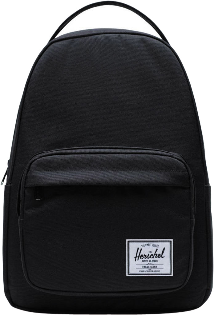 Herschel Supply Co. Miller 600D Poly Backpack, Black, large, image 1