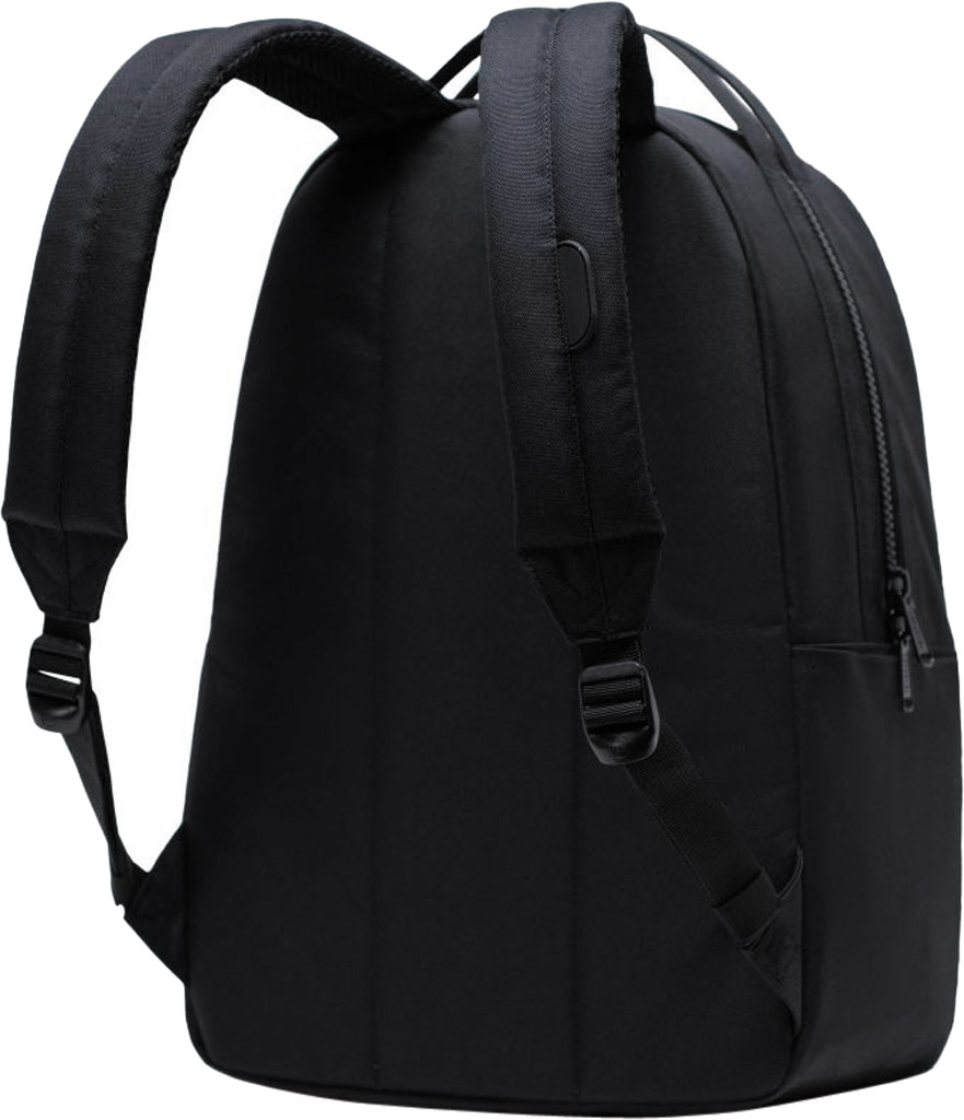 Herschel Supply Co. Miller 600D Poly Backpack, Black, large, image 2
