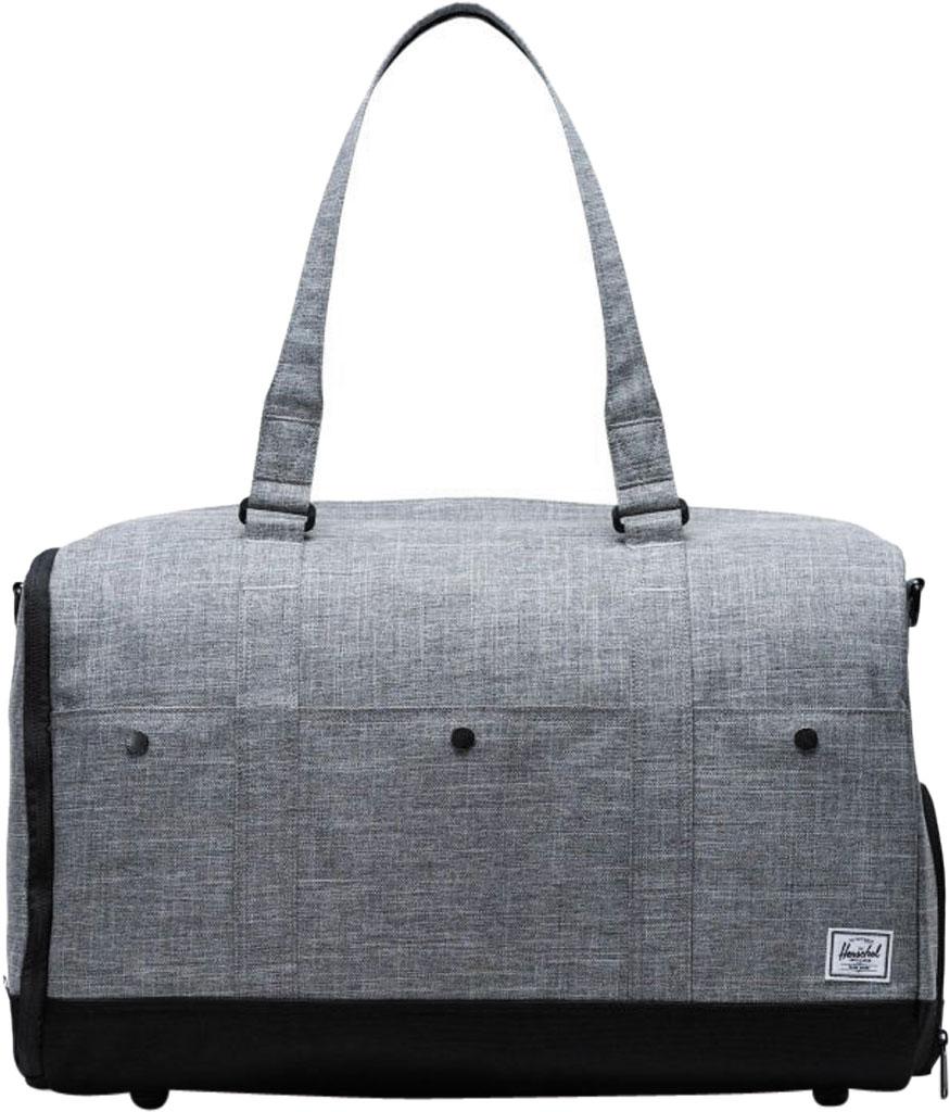 Herschel Supply Co. Bennett Duffel Bag, Raven Crosshatch, large, image 1