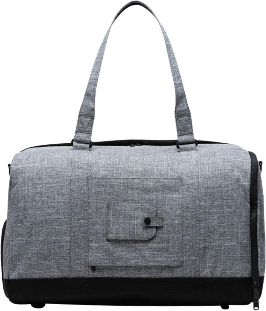 Herschel Supply Co. Bennett Duffel Bag, Raven Crosshatch, large, image 2