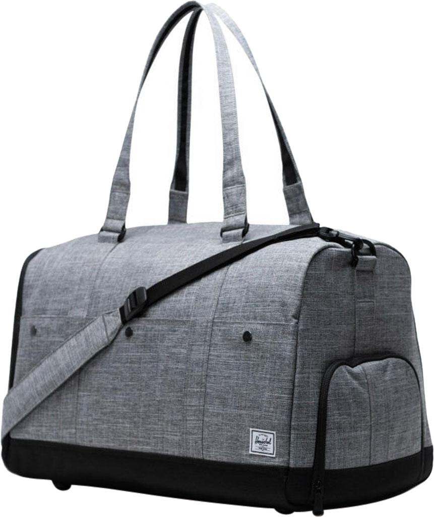 Herschel Supply Co. Bennett Duffel Bag, Raven Crosshatch, large, image 3