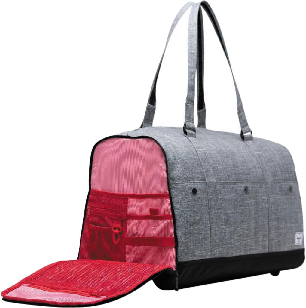 Herschel Supply Co. Bennett Duffel Bag, Raven Crosshatch, large, image 5