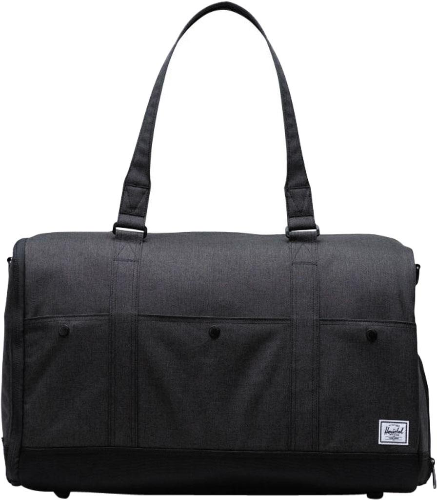 Herschel Supply Co. Bennett Duffel Bag, Black Crosshatch, large, image 1