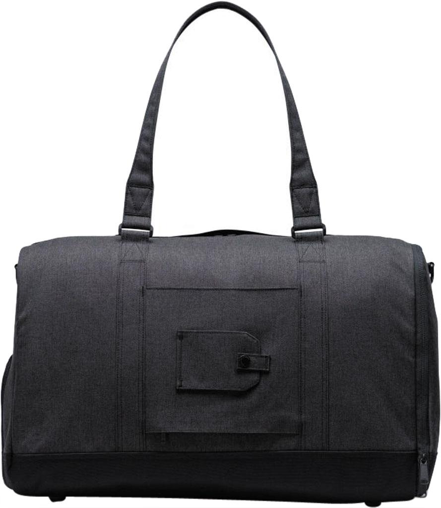 Herschel Supply Co. Bennett Duffel Bag, Black Crosshatch, large, image 2