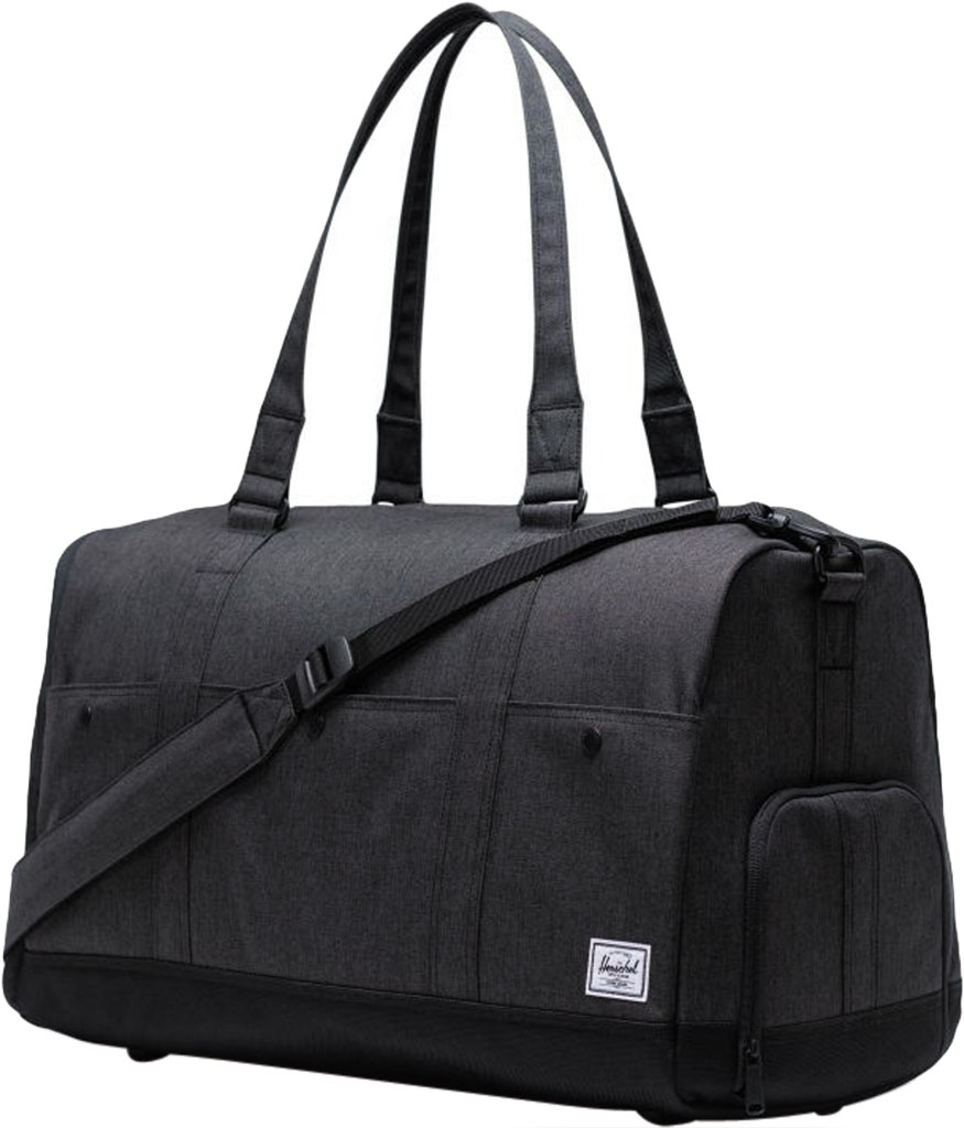 Herschel Supply Co. Bennett Duffel Bag, Black Crosshatch, large, image 3