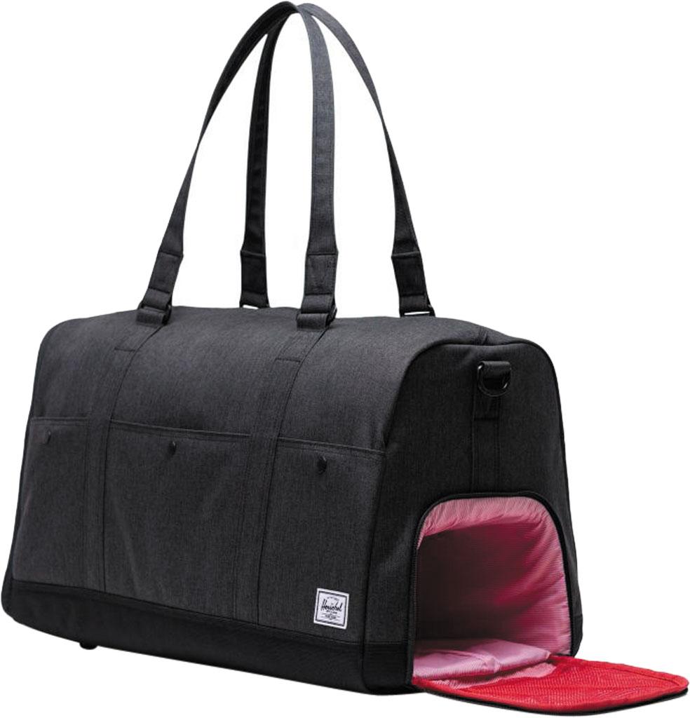 Herschel Supply Co. Bennett Duffel Bag, Black Crosshatch, large, image 4