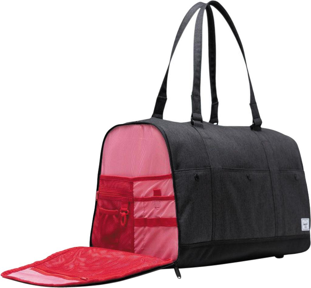 Herschel Supply Co. Bennett Duffel Bag, Black Crosshatch, large, image 5