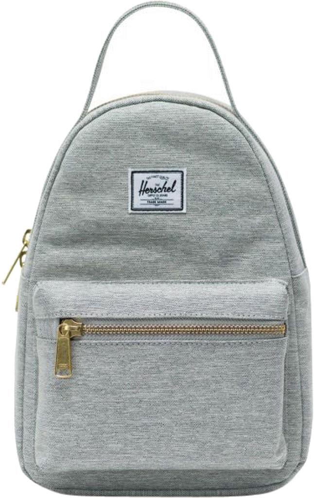 Herschel Supply Co. Nova Mini Backpack, Light Grey Crosshatch, large, image 1