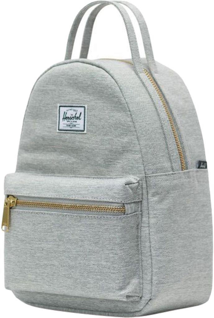 Herschel Supply Co. Nova Mini Backpack, Light Grey Crosshatch, large, image 3