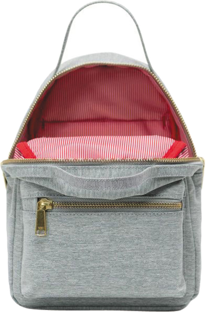 Herschel Supply Co. Nova Mini Backpack, Light Grey Crosshatch, large, image 4