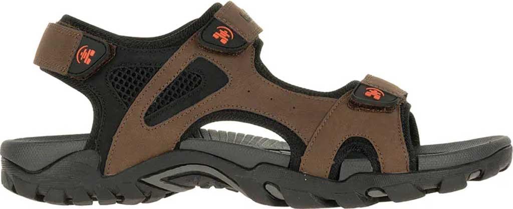 Men's Kamik Milos Active Sandal, Brown, large, image 2