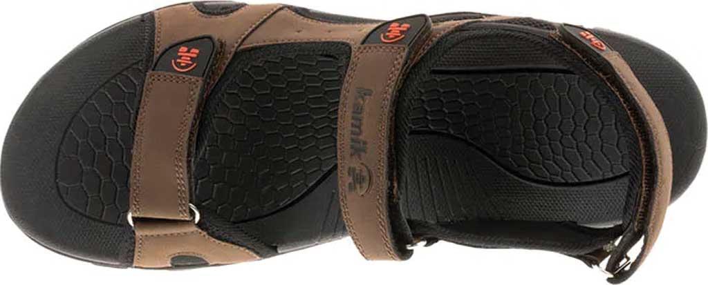 Men's Kamik Milos Active Sandal, Brown, large, image 5